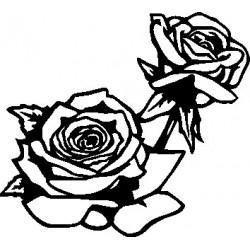 Wand Blume 7