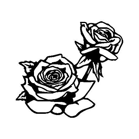 Aufkleber: Wand Blume 7