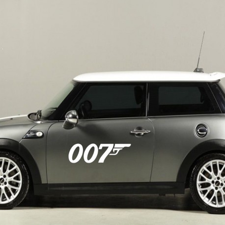 Aufkleber: James Bond Logo Aufkleber
