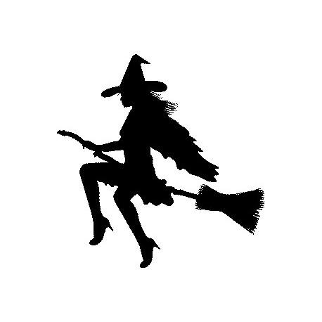 Aufkleber: Witch stickers