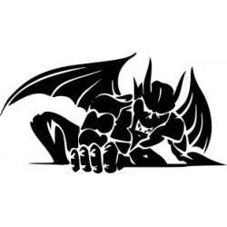 Teufel Aufkleber