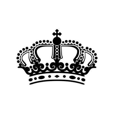 Aufkleber: Aufkleber Krone