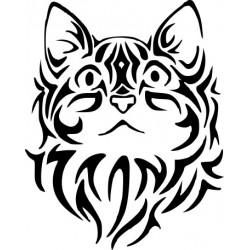 Katzenaufkleber 11