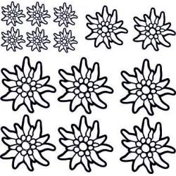 aufkleber autoaufkleber fl�gel, wolf, hund, babyaufkleber Blumen Aufkleber selber gestalten 3