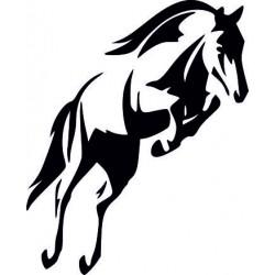 Aufkleber Pferd 34