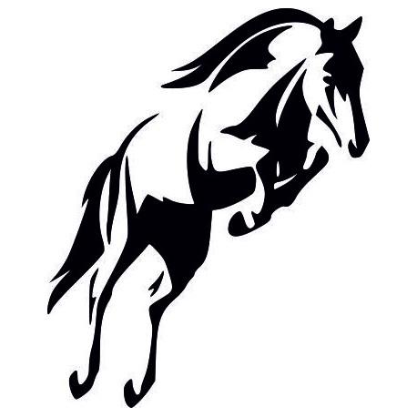 Aufkleber: Aufkleber Pferd 34