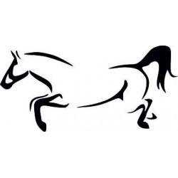 Aufkleber Pferd 35