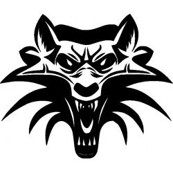 Wolf 7-Aufkleber