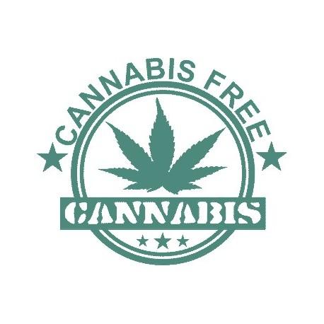Aufkleber: Cannabis Hanf Aufkleber