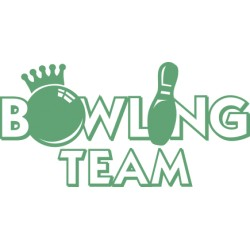 Bowling 1 Aufkleber