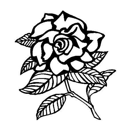 Aufkleber: Blume 41
