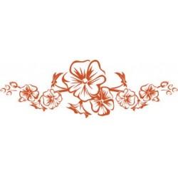 aufkleber Blumenranke 60