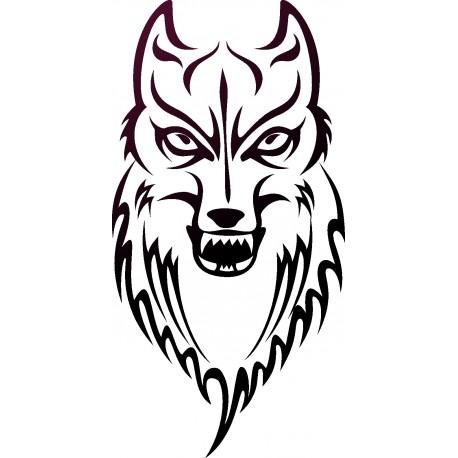 Aufkleber: Wolf 14-Aufkleber