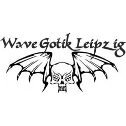 aufkleber autoaufkleber fl�gel, wolf, hund, babyaufkleber Wave-Gotik-Treffen - Wave Gothik