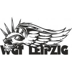 aufkleber autoaufkleber fl�gel, wolf, hund, babyaufkleber Wave-Gotik-Treffen - WGT