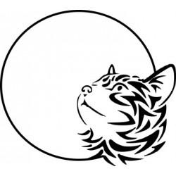 Katzenaufkleber 9-1