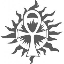 Autoaufkleber: Ankh-Kreuz 1 Das Auge des Horus 1