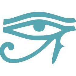 aufkleber autoaufkleber fl�gel, wolf, hund, babyaufkleber Das Auge des Horus