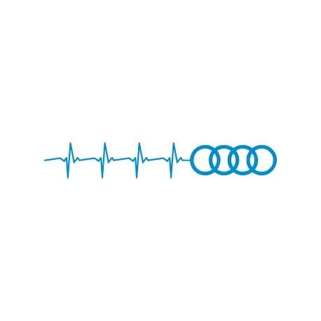 Aufkleber: Audi Aufkleber 1