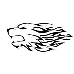 Autoaufkleber: Hundekopf Aufkleber Hund Aufkleber
