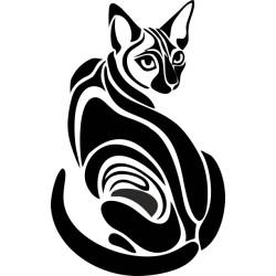 Katzenaufkleber 17