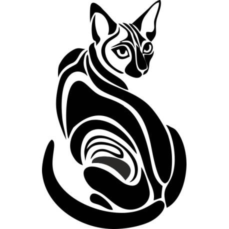 Aufkleber: Katzenaufkleber 17