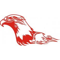 aufkleber autoaufkleber fl�gel, wolf, hund, babyaufkleber Adler Aufkleber 7