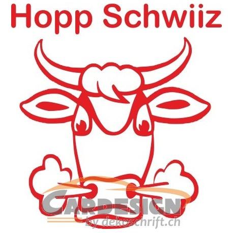 Aufkleber: Hopp Schwiiz Autoaufkleber 5