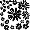 Blumen Set zum selber gestalten
