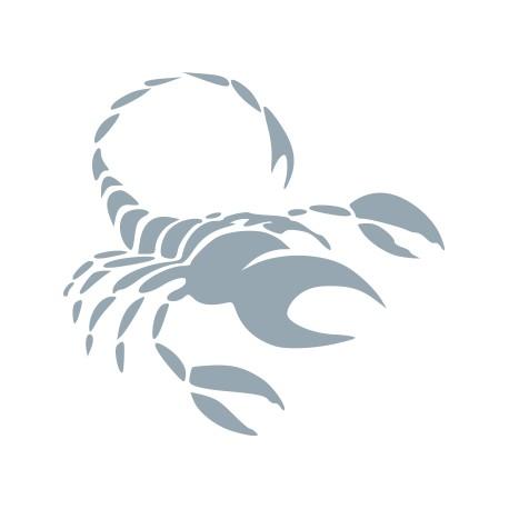 Aufkleber: Sternzeichen Skorpion