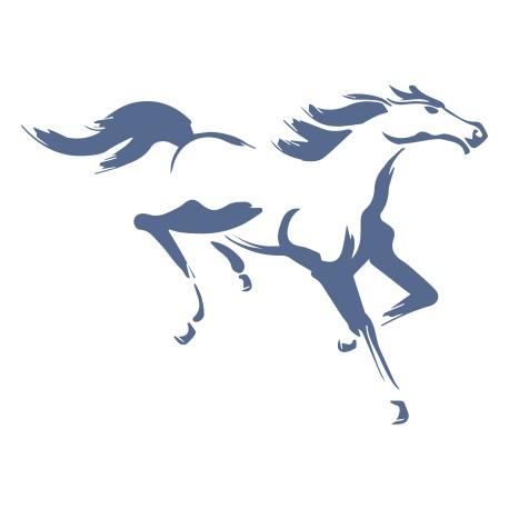 Aufkleber: Pferd 04