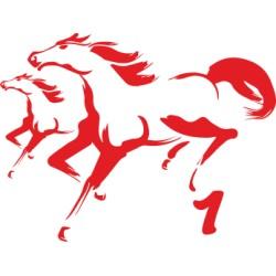 Autoaufkleber: Pferd 02 Pferd 02