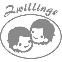 Autoaufkleber: Zwilling Sternzeichen Aufkleber für Kinder Zwilling Sternzeichen Aufkleber für Kinder
