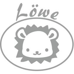 Löwe Sternzeichen Aufkleber für Kinder