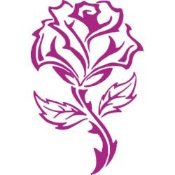 Rose Aufkleber 1