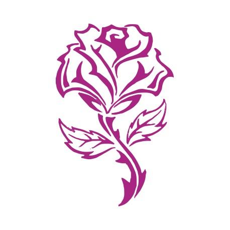 Aufkleber: Rose Aufkleber 1