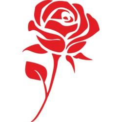 Rose Aufkleber 2