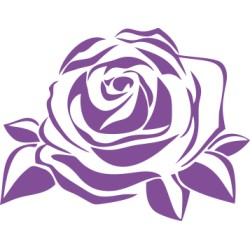 Rose Aufkleber 3