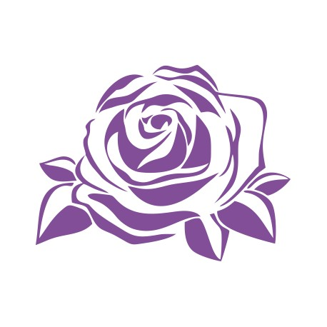 Aufkleber: Rose Aufkleber 3