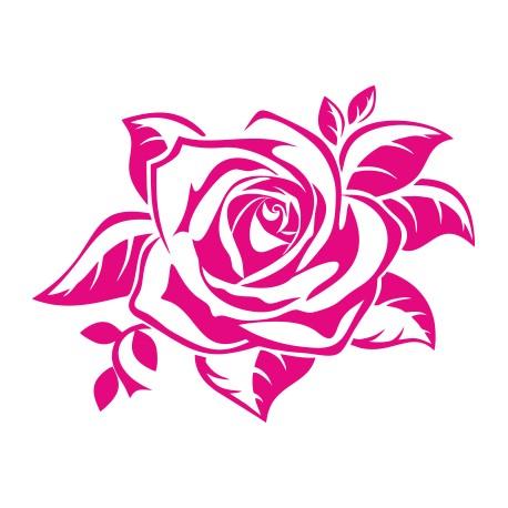 Aufkleber: Rose Aufkleber 5