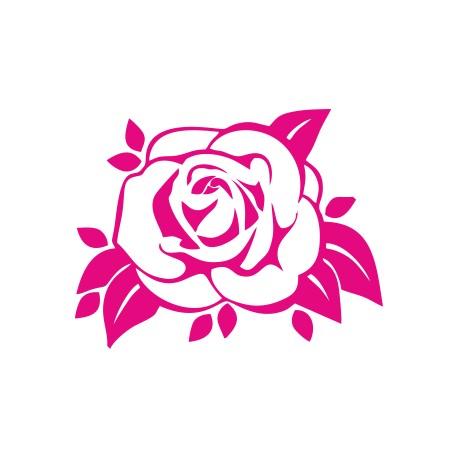 Aufkleber: Rose Aufkleber 6