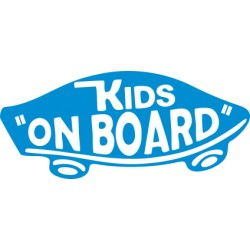 Autoaufkleber: Kids on board Kids on board