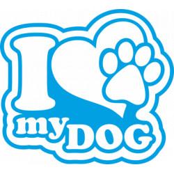 aufkleber autoaufkleber fl?gel, wolf, hund, babyaufkleber Hunde Liebe Aufkleber