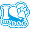 Hunde Liebe Aufkleber