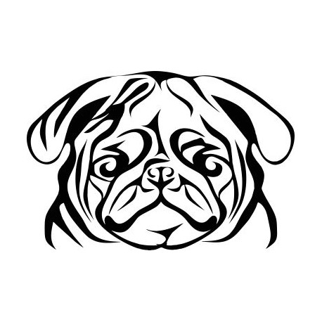 Aufkleber: englische Bulldogge Aufkleber