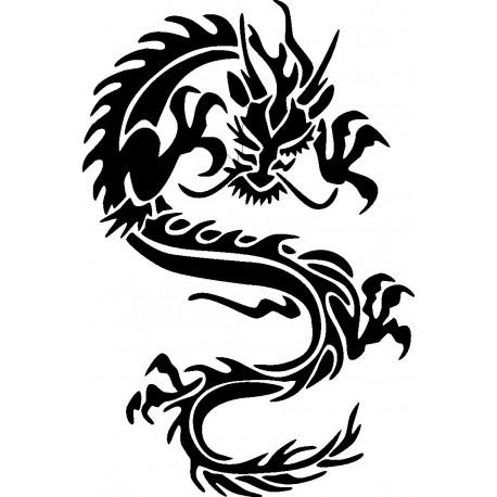 Aufkleber: Drachen Aufkleber 8