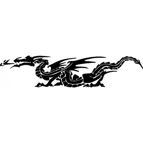 Aufkleber: Drachen Aufkleber 11