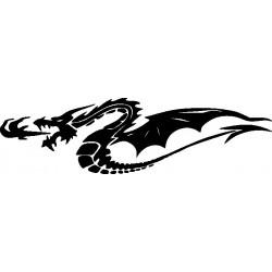 Drachen Aufkleber 13