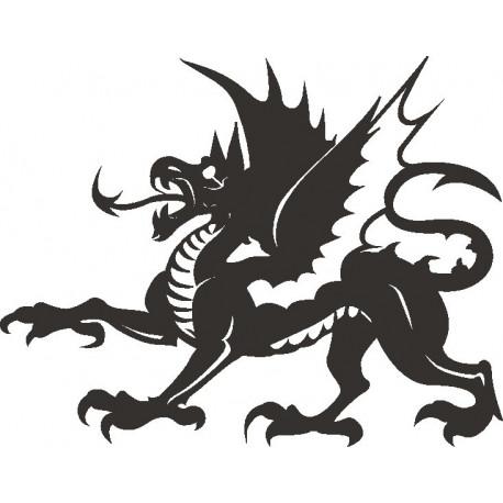 Aufkleber: Drachen Aufkleber 20