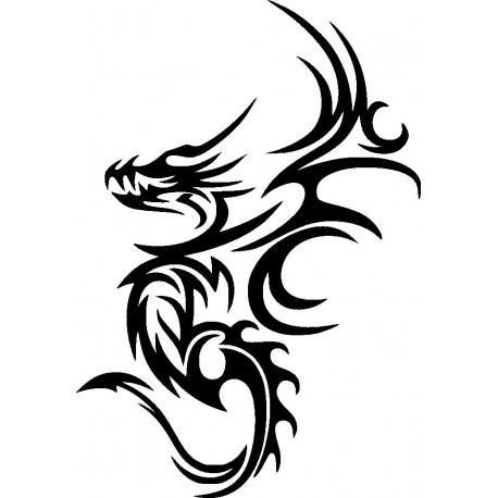 Aufkleber: Drachen Aufkleber 30